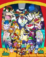 Paper Mario Tribute by BrokenTeapot