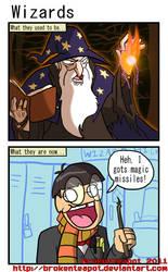 Wizards by BrokenTeapot