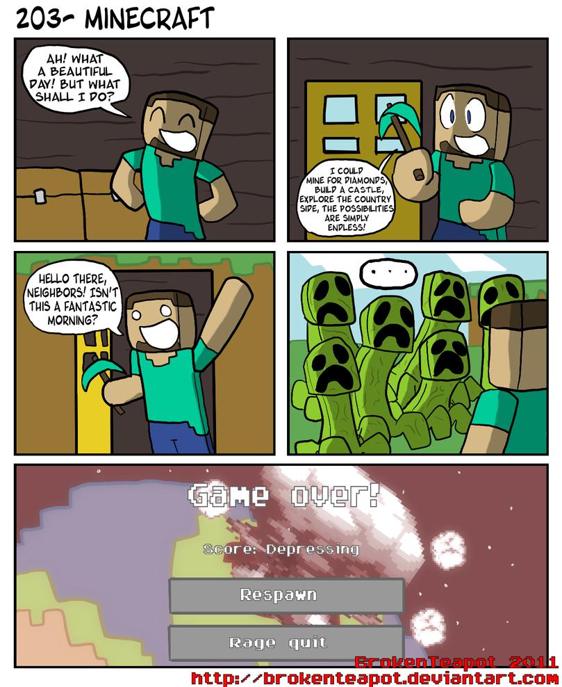 Minecraft by BrokenTeapot