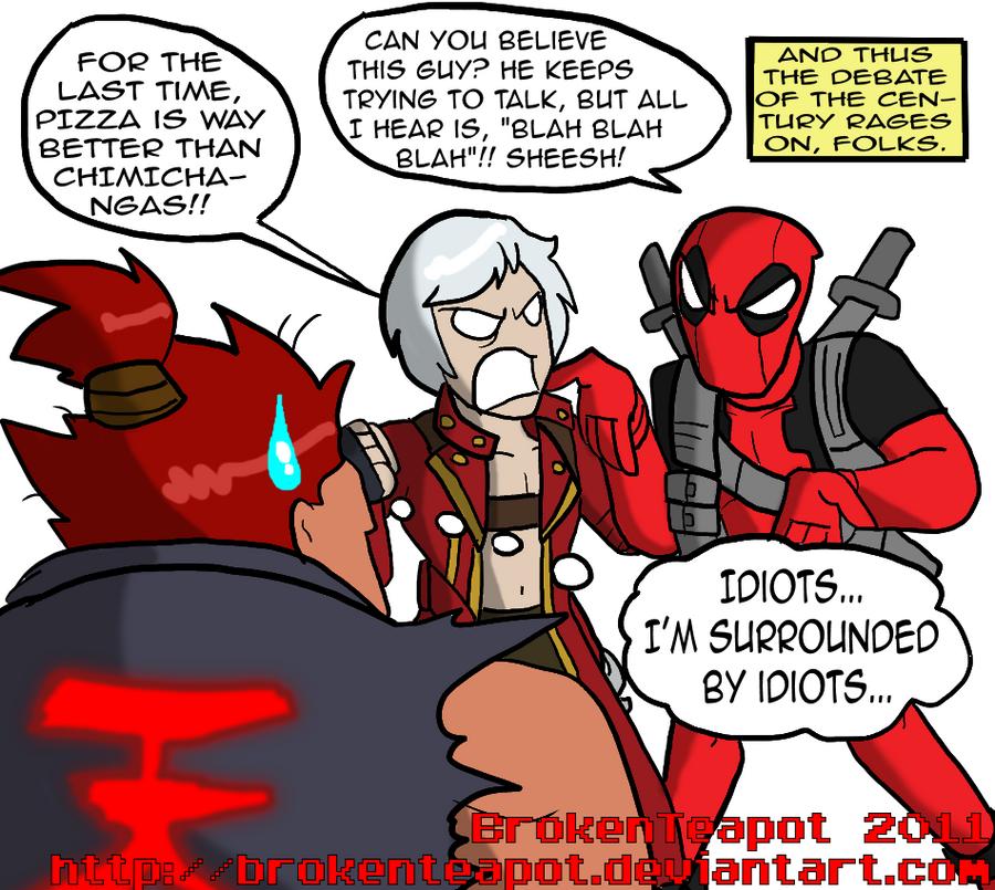 soryukey's MvC3 Team B by BrokenTeapot