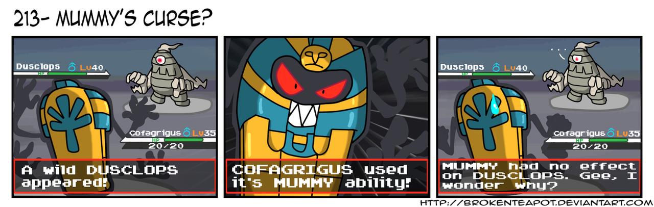 Mummy S Curse By Brokenteapot On Deviantart