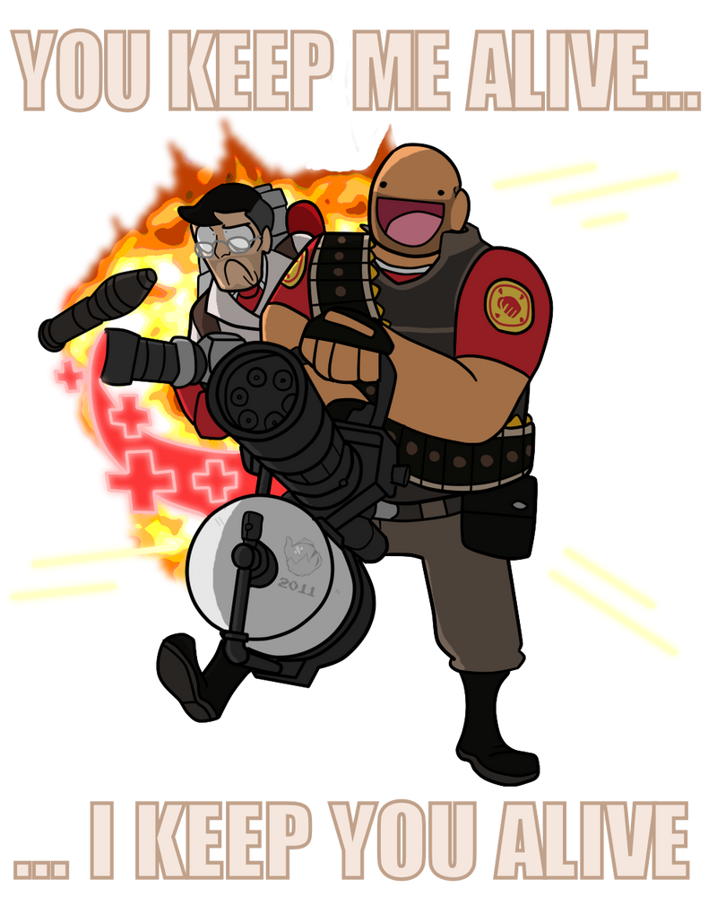Tf2 Spray Tf2 Medic Heavy Spray by