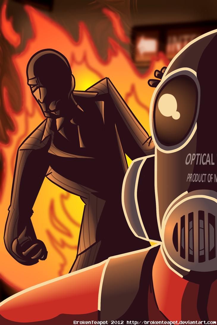 Spy check'd by BrokenTeapot