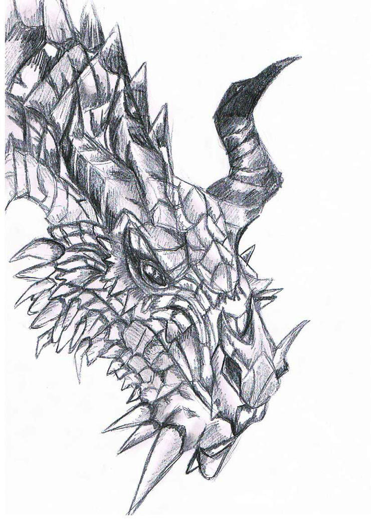 Paarthurnax by lfijlstra
