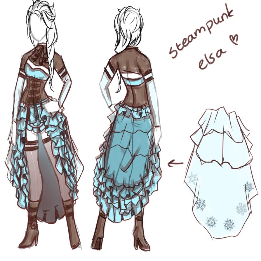 Steampunk Elsa Concept By Lfijlstra On Deviantart