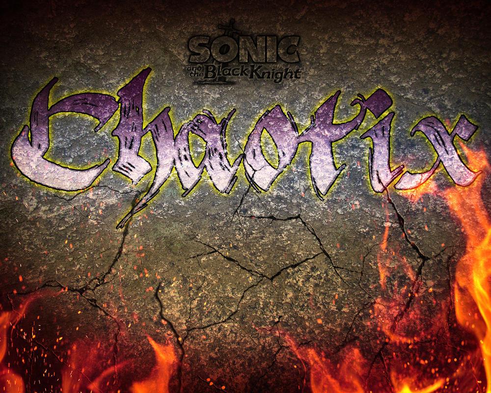 SatBK: Chaotix (title card) by Xaolin26