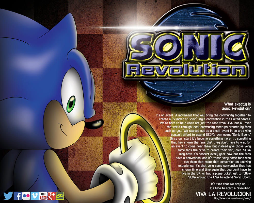 Sonic Revolution advertisement by Xaolin26