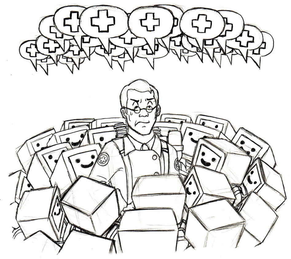 Beep Beep Medic! by Xaolin26
