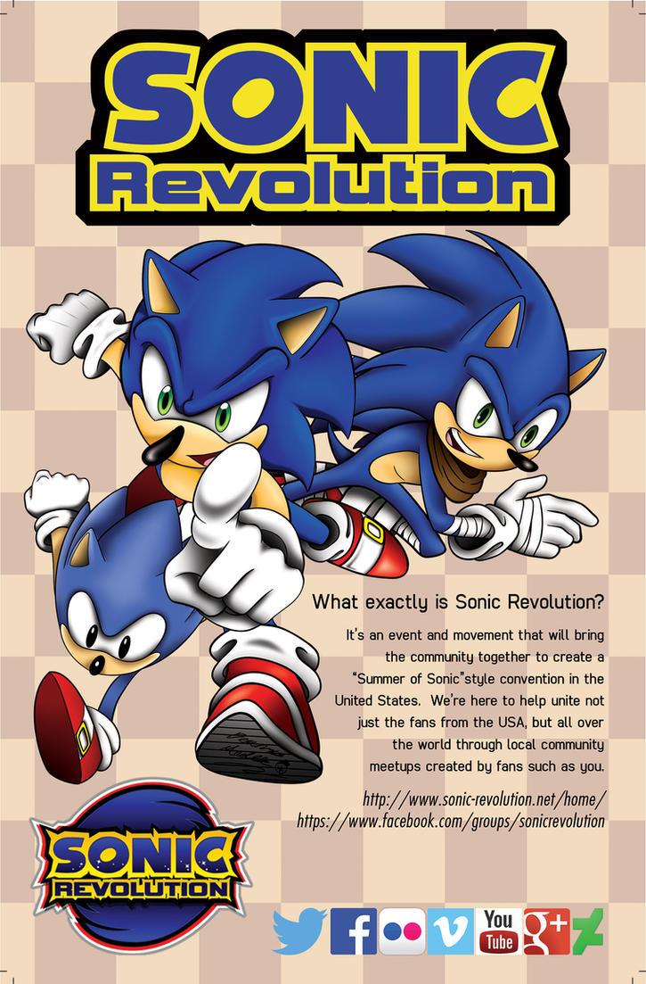 Sonic Revolution Ad./flyer by Xaolin26