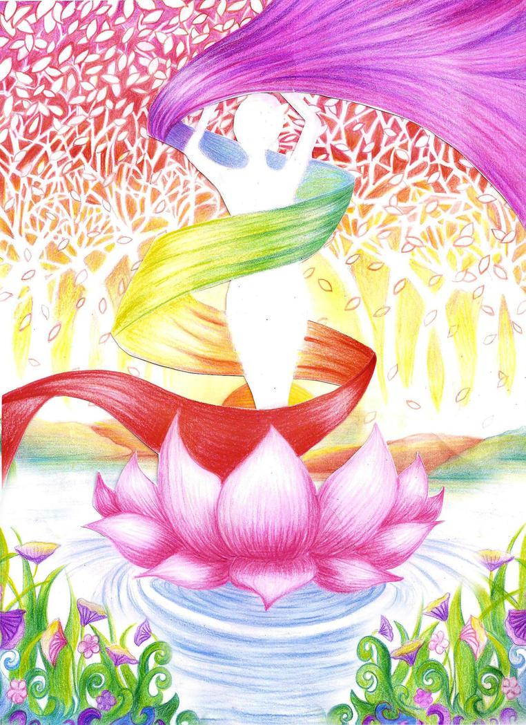 Colorful Chakara by FadwaAngela