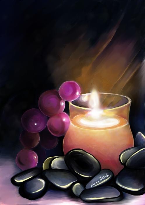 Candle by FadwaAngela