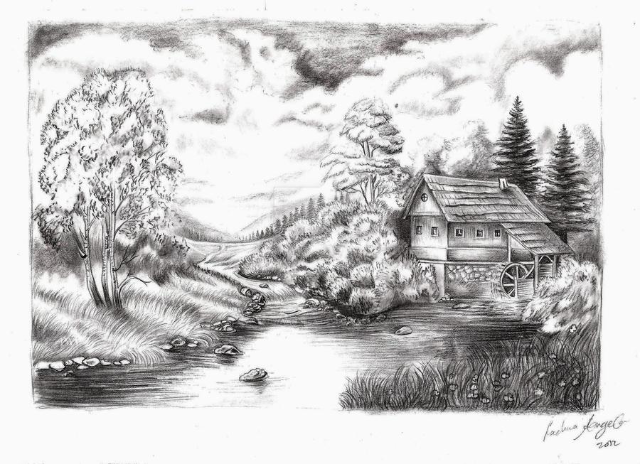 Landscape - Practiceing only by FadwaAngela