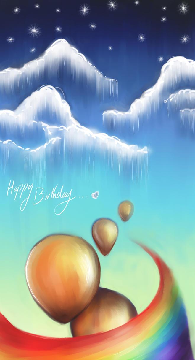 Happy B-Day Simon by FadwaAngela