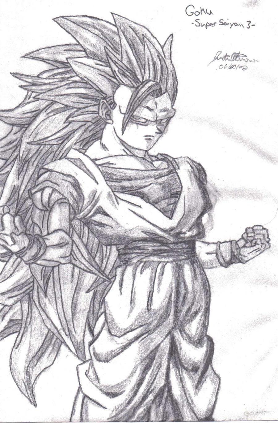 Super Saiyan 3 Goku by Caedus6685 on DeviantArt