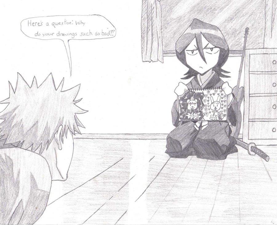 ichigo and rukia meet again tat