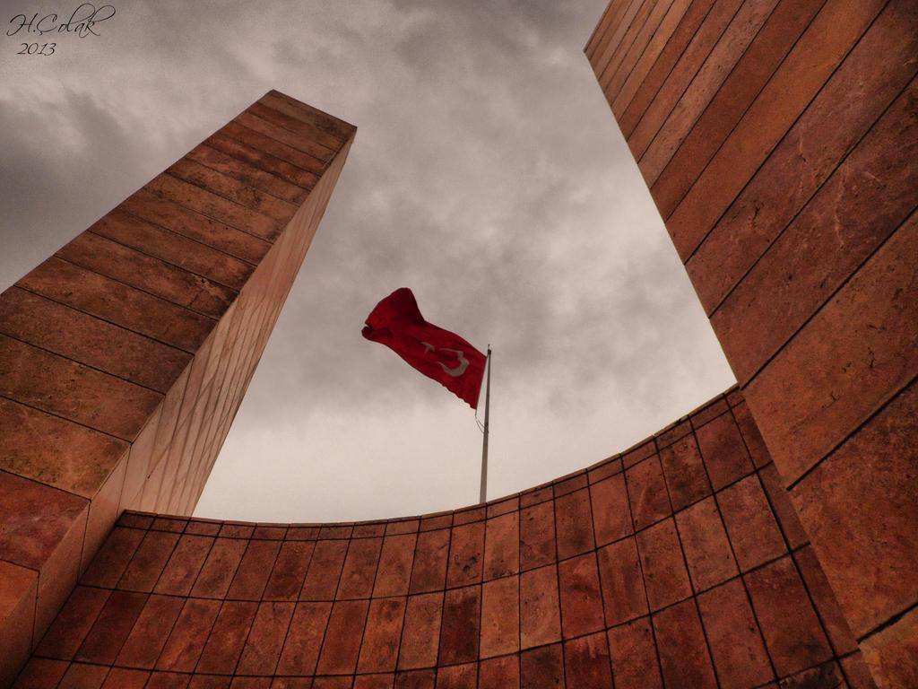 Turkish Flag by HamitColak