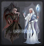 [CLOSED] Adoptable #1-2 Demon and Priest