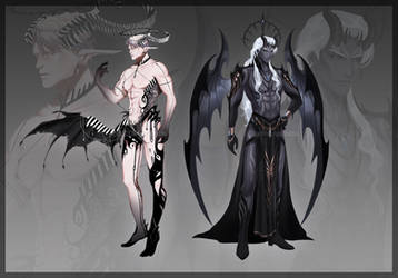 [CLOSED] Adoptable #37 and Abyssia Closed Species by Zenithll