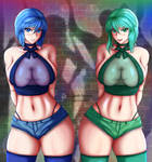 Aurora and Nyx Sexy Outfit (Alt)