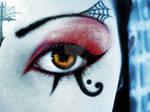 Deathrock make-up