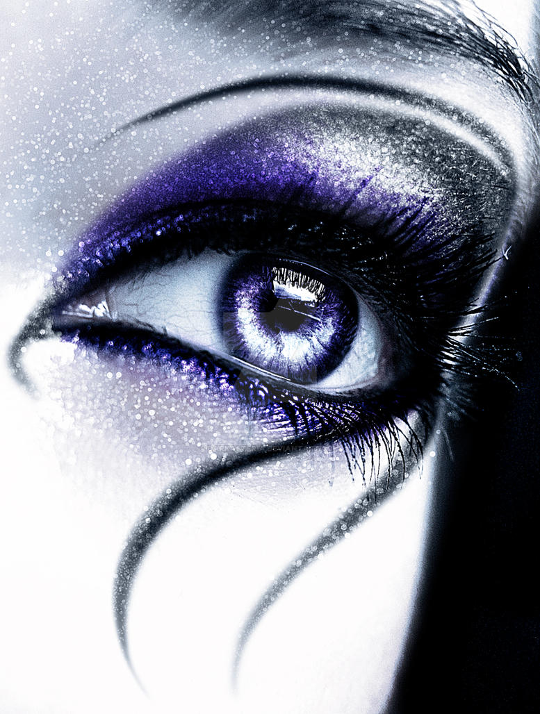Purple Eyeshadow Tutorial: Deathrock Make-up VI By DarkAsteria On DeviantArt
