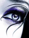 Deathrock make-up VI