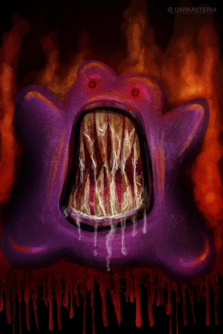 Rabi-analisis; Ditto, la pesadilla rosada Evil_ditto_from_hell_by_darkasteria-d2yxk99