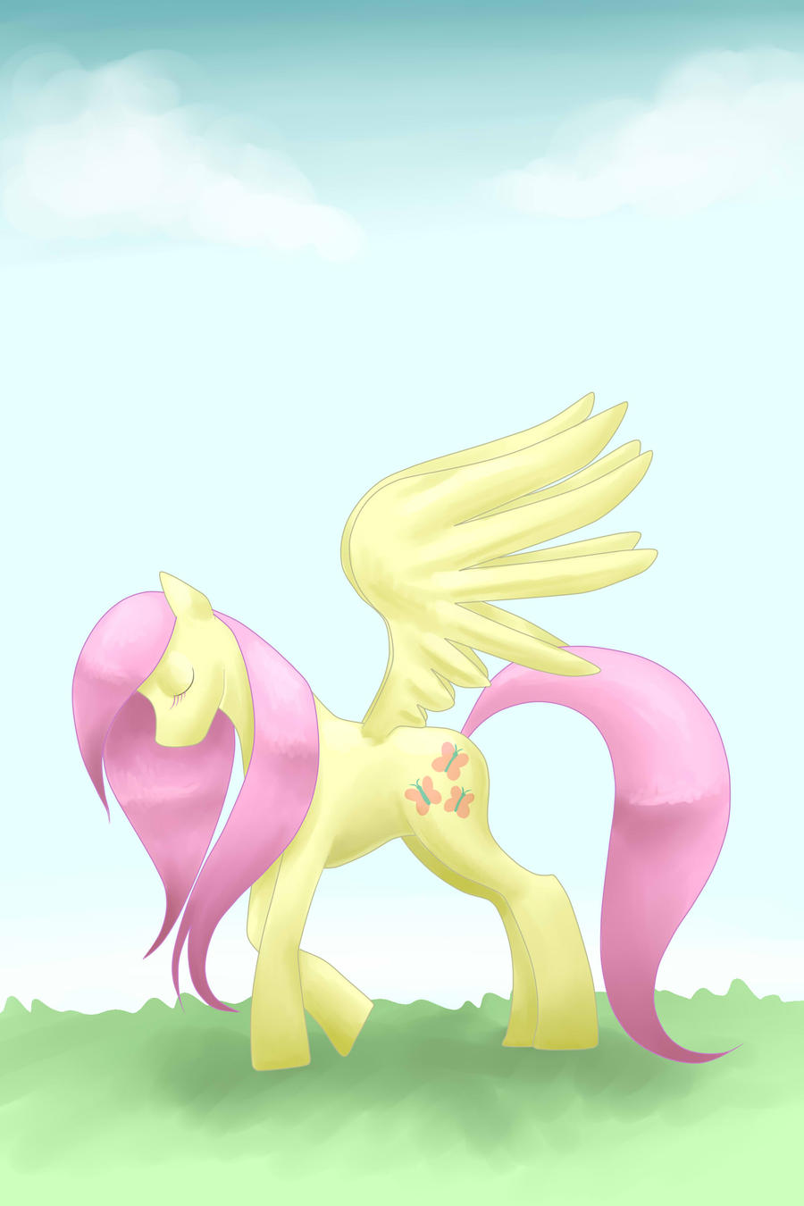 Fluttershy by Raining-Cupcakes