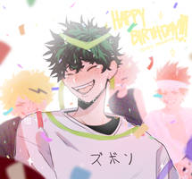 Happy Birthday, Deku!!! by milkutwan