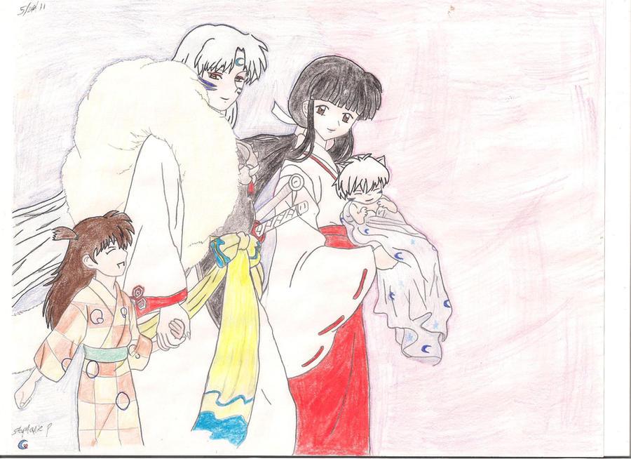 Sesshomaru Family kikyo and sessh...