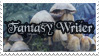 Fantasy Writer's Stamp by SashaFitzgerald