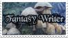 Fantasy Writer's Stamp by SashaFitzgerald