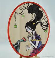 Temptation of Snow White by SashaFitzgerald