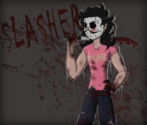 SLASHER by oO-Ender-Girl-Oo