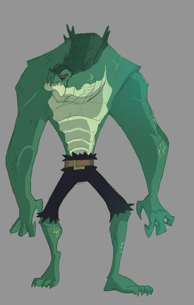 Killer Croc by TerminAitor on DeviantArt