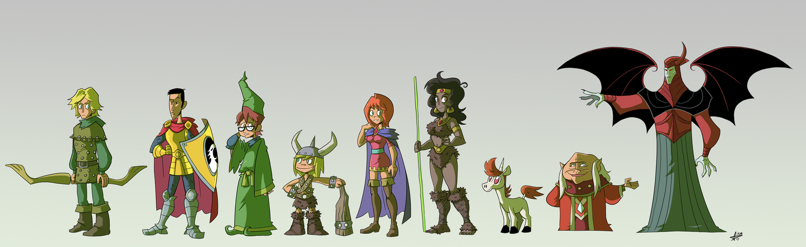 Dungeons and Dragons revisited by TerminAitor
