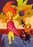 Summer in Fire Kingdom
