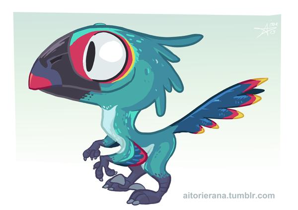 Little Raptor by TerminAitor