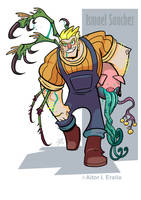 Darkstalkers Embrace the Dark Entry: Ismael by TerminAitor