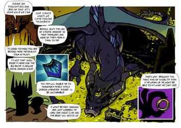 Dark Dragon by TerminAitor