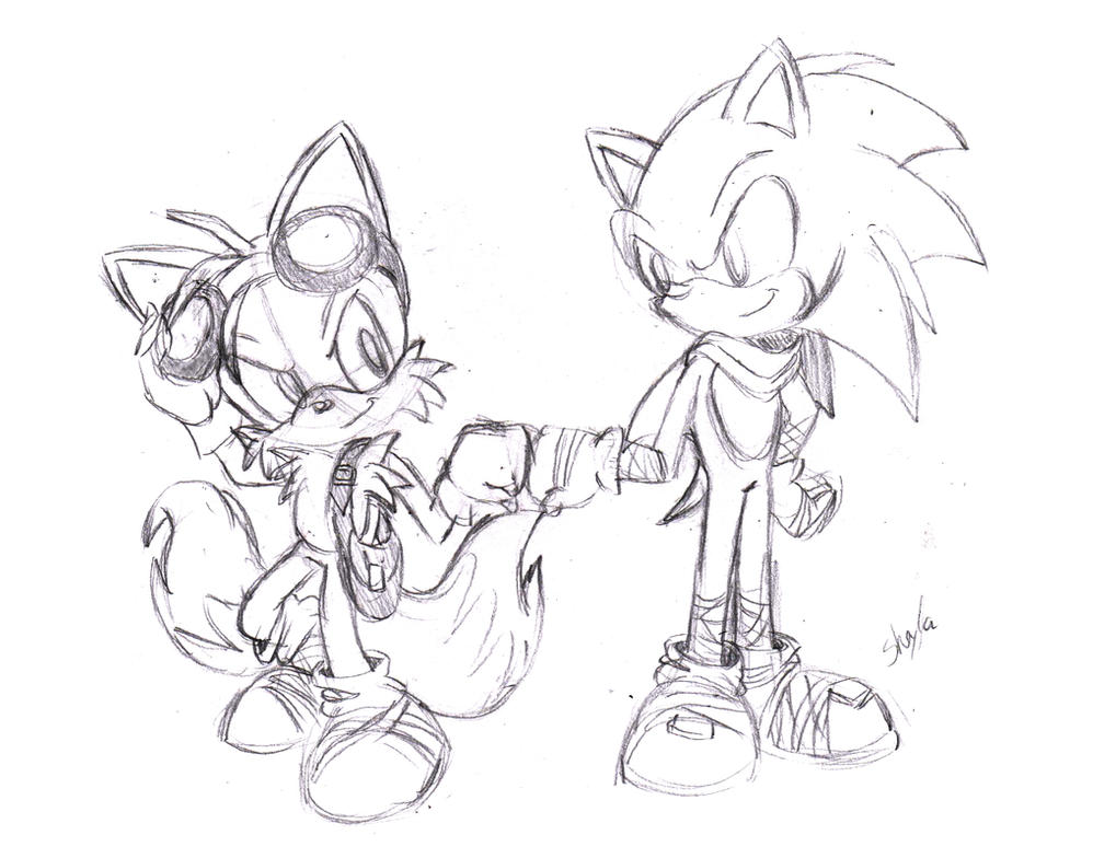 Sonic and Tails Sonic Boom by Sconcept on DeviantArt