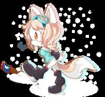Yuki the Fox by S-concept