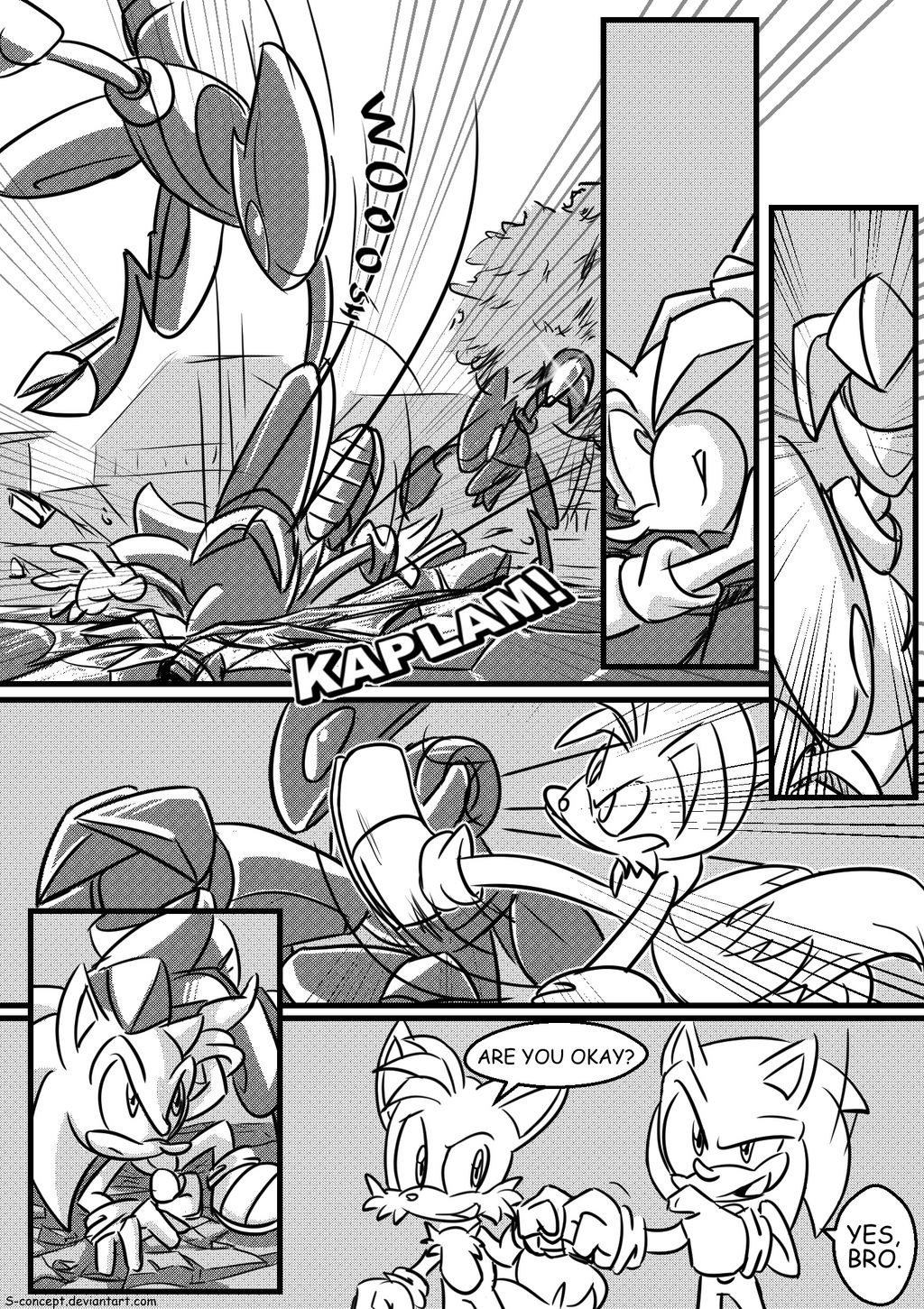 27 - The Secrets of Mobius (Page 27, Season 1) by S-concept