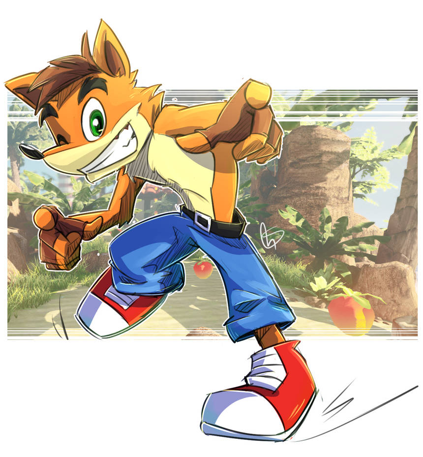 Crash Bandicoot by S-concept