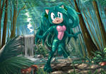 Comm.: Clover the Hedgehog by S-concept