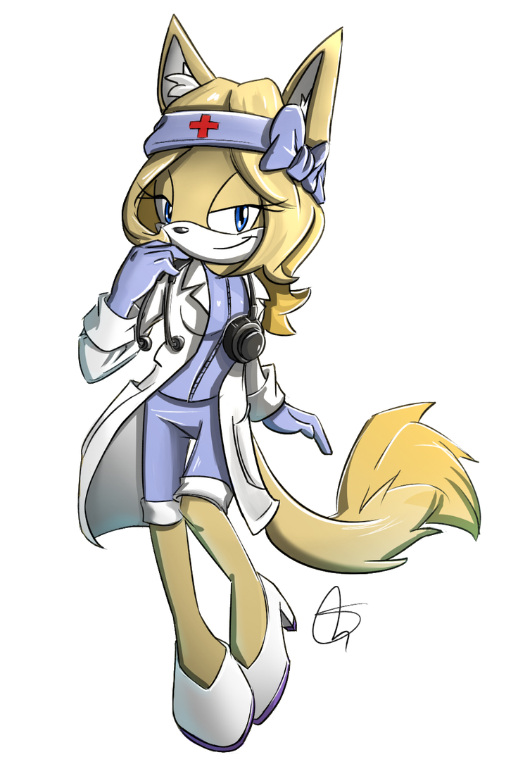 Comm.: Sonya medical outfit by S-concept