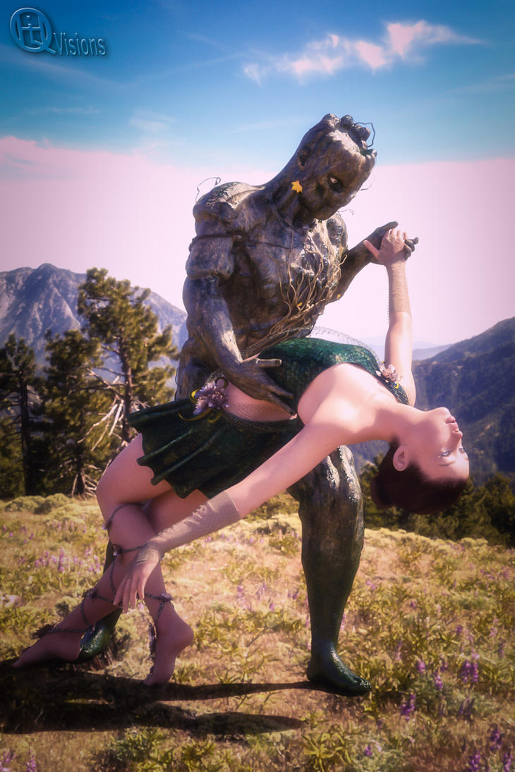 Dancing with a tree? by HiQ-Visions