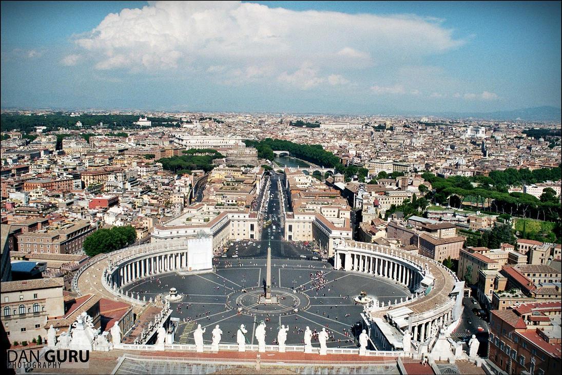Piazza San Pietro by RoqqR