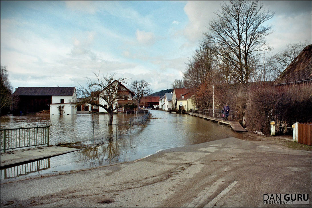 Bavarian Floods - Street I by RoqqR