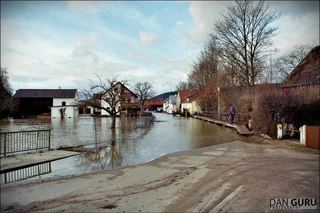 Bavarian Floods - Street I by RoqqR